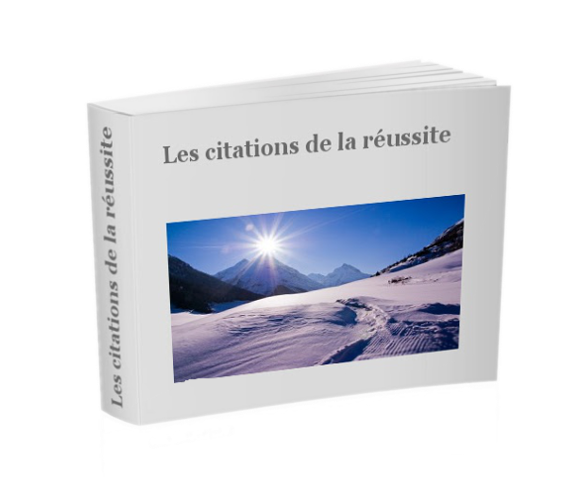 ebook citations de la réussite